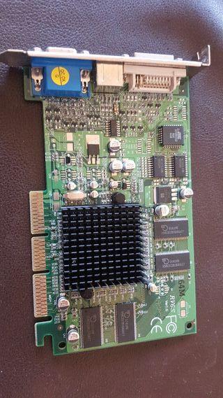 Ati Radeon 7000 rv6s agp vga dvi 64mb