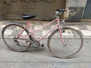 bicicleta BH gacela rosa