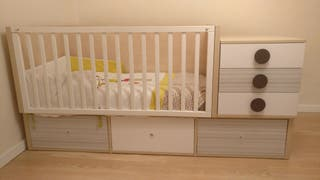 Habitación infantil - Cama convertible