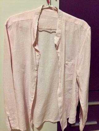 Camisa rosa de Adolfo Domínguez