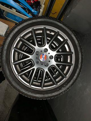 Llantas 17 pulgadas(GULF) +neumáticos de invierno
