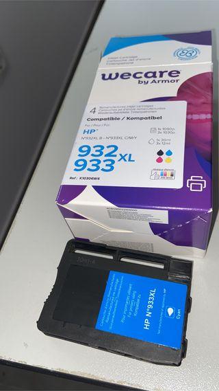 Cartuchos tinta hp impresora compatibles