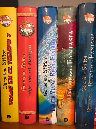 Pack libros Geronimo Stilton