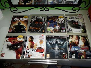 Se venden juegos de play 3 y XBox 360.