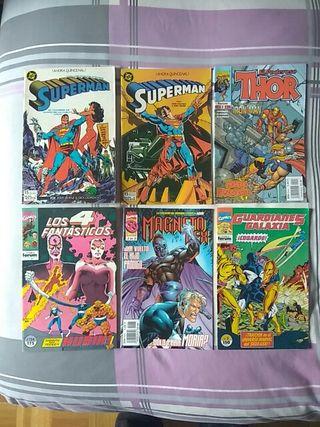 Comics a 2 € cada uno.