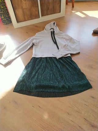 vestido tul