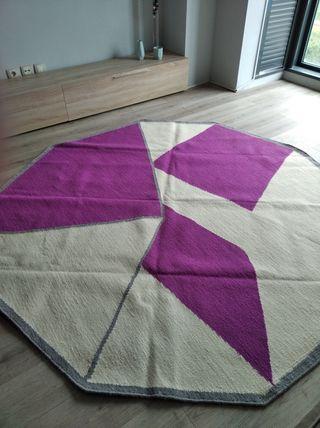 alfombra octogonal nueva