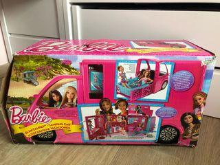 Autocaravana vacaciones Barbie