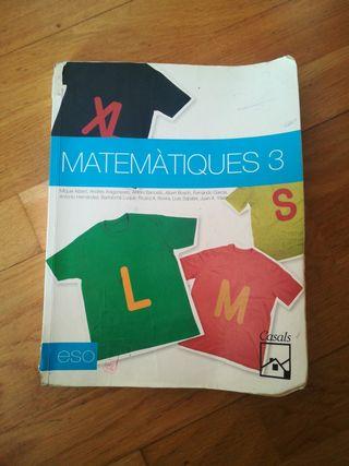 libro de matemáticas de 3 ESO