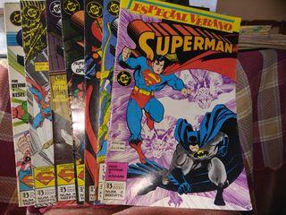 7 comics Superman