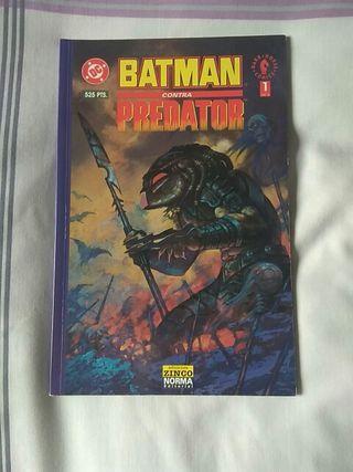 Batman contra Predator número 1.
