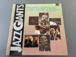 Recopilatorio dez Jazz Giants 2 vinilos LP