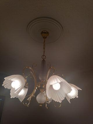 Lámpara 5 bombillas