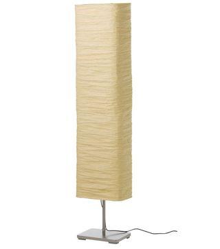 Lámpara de pie natural
