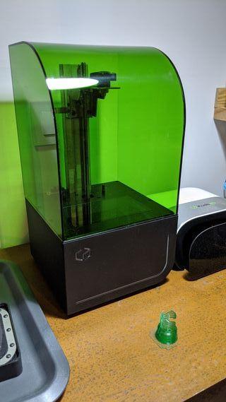 impresora 3d SLA resina