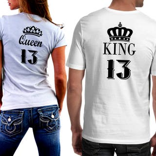 Camisetas personalizadas para parejas