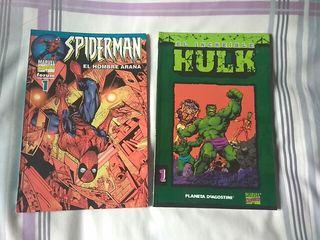 Comics a 4€ cada uno.