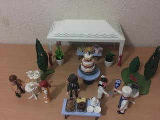 Banquete playmobil