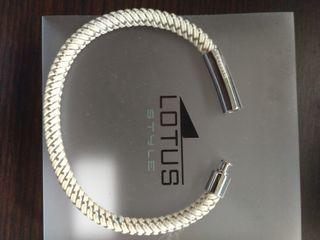 Pulsera Lotus hombre acero LS1119