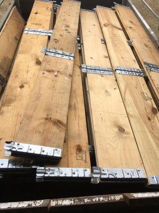 Cercos de madera apilables palets