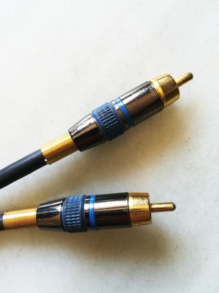 Cable Audio Coaxial Profesional 5 metros