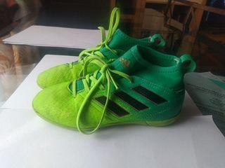 zapatillas para niño de fútbol Adidas con calcetin