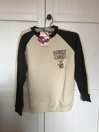 Sudadera Snoopy con etiqueta Zara Kids