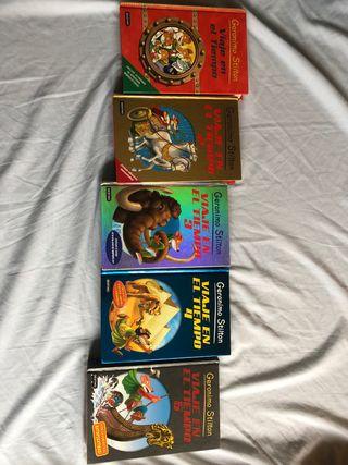 Colección libros Geronimo Stilton