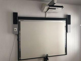 Pizarra táctil interactiva hitachi con proyector
