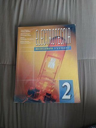 LIBRO DE TEXTO ELECTROTECNIA BACHILLERATO EVEREST