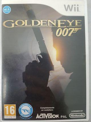 juegos Wii Golden Eye 7 y Resident Evil y Nunchuck