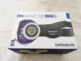Reloj pulsometro con GPS