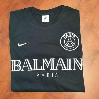 Camiseta PSG BALMAIN Negra