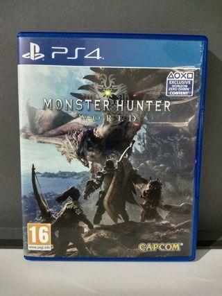 Monster Hunter World - Sony PS4