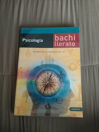 LIBRO BACHILLERATO PSICOLOGIA LABERINTO