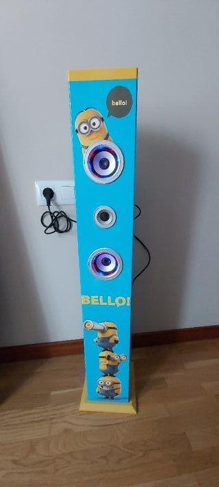 torre de sonido karaoke