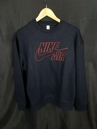 Sudadera Nike Air Bordada Negra