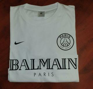 Camiseta PSG BALMAIN Blanca