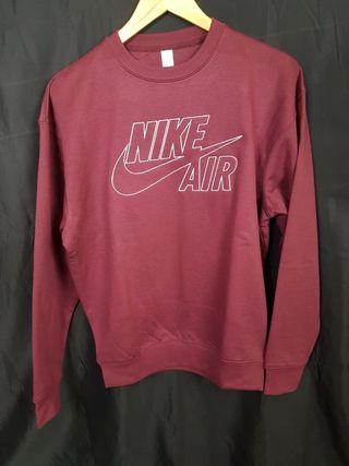 Sudadera Nike Air Bordada Burdeos