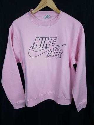 Sudadera Nike Air Bordada Rosa