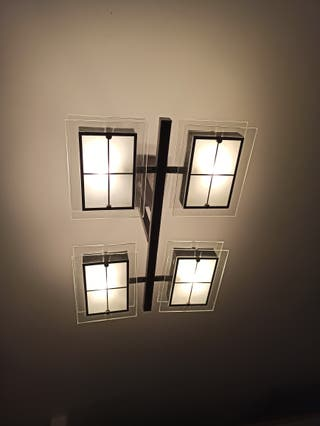 Juego lámparas dormitorio