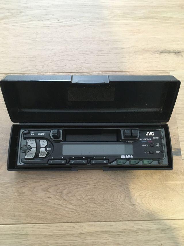 Radio de coche para casettes jvc