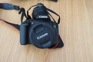 Camara Canon 750d PACK OFERTA
