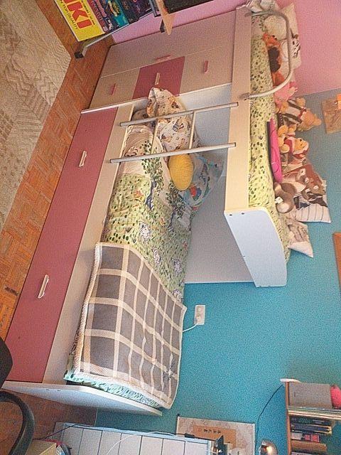 Mueble litera 3 camas