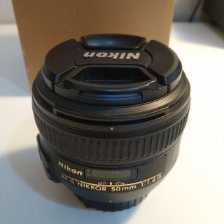 Nikorr AF-S 50mm F1.4 G - Objetivo para Nikon