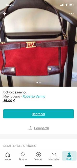 Bolso de mano Roberto Verino