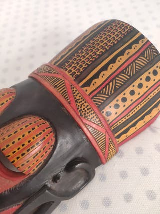 Máscara de tribu masai
