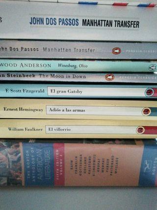 Steinbeck Faulkner Hemingway Norton Anthology