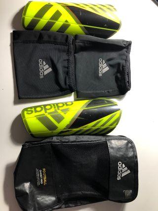 Espinilleras Adidas (Football chist pro)