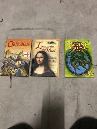 Tres libros Juveniles en inglés